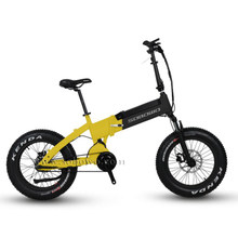 SOBOWO SF6 Powerful Belt Mid Drive with Hidden Battery Folding Electric Bike for Adults